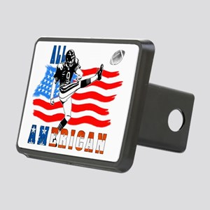 All American Football Fiel Rectangular Hitch Cover