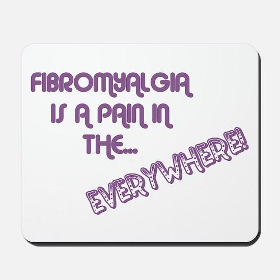 Fibromyalgia Mousepad