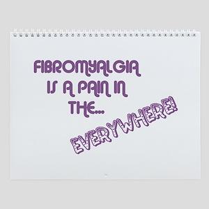 Fibromyalgia Wall Calendar