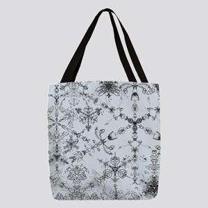 Winter Snow Polyester Tote Bag