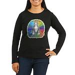 Explosive Mood Women's Long Sleeve Dark T-Shirt