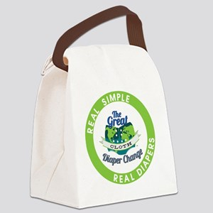 Pin-1 Canvas Lunch Bag