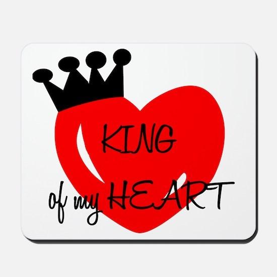 King of my heart Mousepad