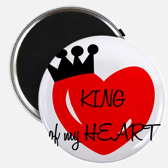King of my heart Magnet