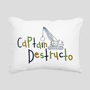 destructo Rectangular Canvas Pillow