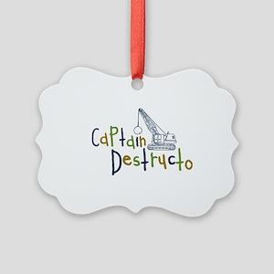 destructo Picture Ornament
