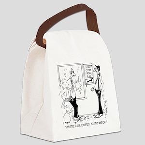 5326_fire_cartoon Canvas Lunch Bag