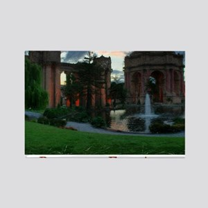 Palace Sketch Note Cards Rectangle Magnet