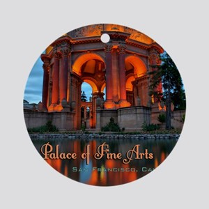 Palace Mousepad Round Ornament