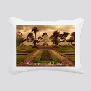 Conservatory Note Cards Rectangular Canvas Pillow