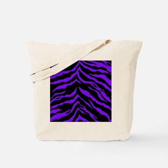 menswalletpurpleblktigerstripespng Tote Bag