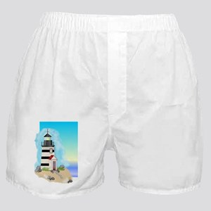 Lighthouse Journal Cover Boxer Shorts