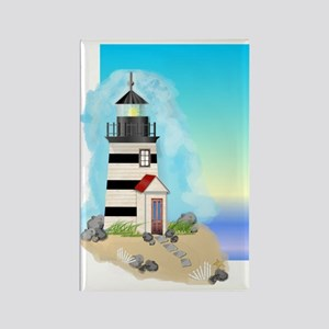 Lighthouse Journal Cover Rectangle Magnet