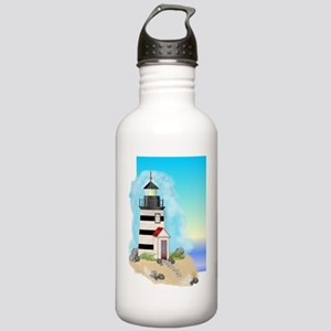 Lighthouse Journal Cov Stainless Water Bottle 1.0L