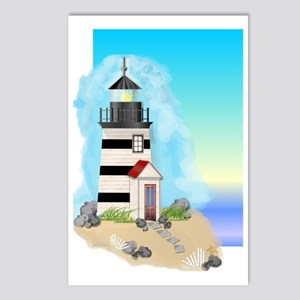 Lighthouse Journal Cover Postcards (Package of 8)