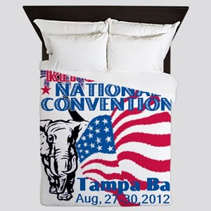 Republican Convention Queen Duvet