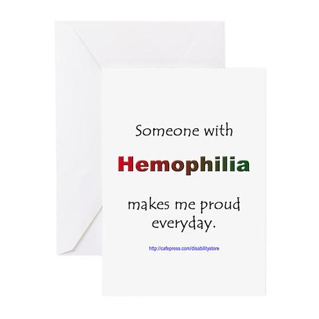 Hemophilia Pride Greeting Cards (Pk of 10)