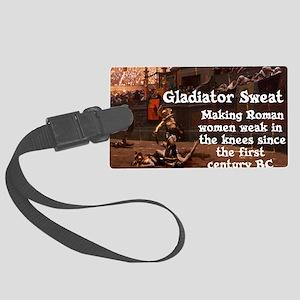 Gladiator Sweat Large Luggage Tag