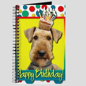 BirthdayCupcakeAiredale Journal