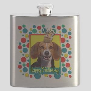 BirthdayCupcakeBeagleCP Flask