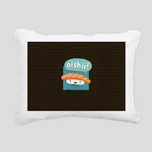 oishiilaptopskin Rectangular Canvas Pillow