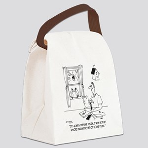 4978_bird_cartoon Canvas Lunch Bag