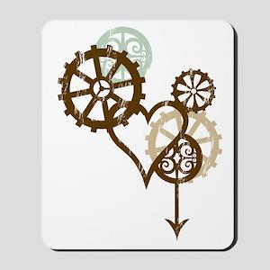 steampunk love Mousepad