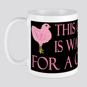breast cancer this chickdbutton Mug