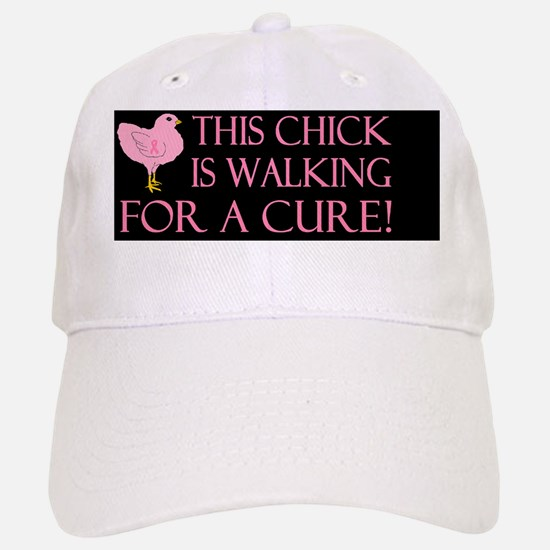 breast cancer this chickdbutton Baseball Baseball Cap