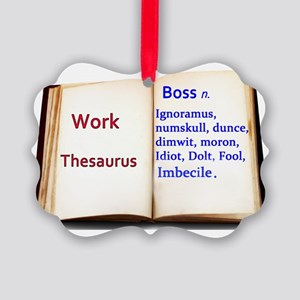 work thesaurus. trans. Picture Ornament