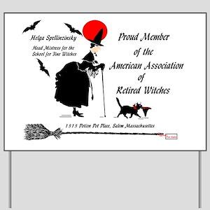 Membership Card AARW Yard Sign