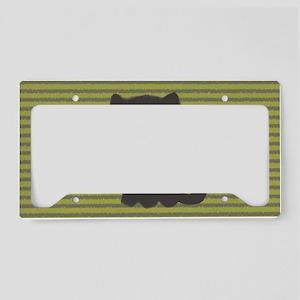greykittyminiwallet License Plate Holder