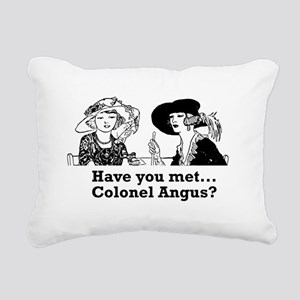 colonelangus Rectangular Canvas Pillow