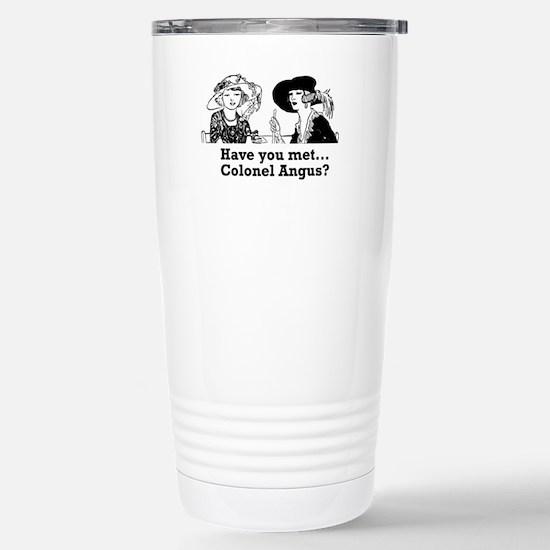 colonelangus Stainless Steel Travel Mug