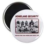 Homeland Security Native Pers Magnet