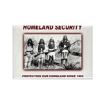 Homeland Security Native Pers Rectangle Magnet (10