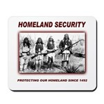 Homeland Security Native Pers Mousepad