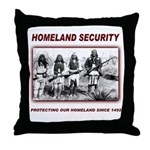 Homeland Security Native Pers Throw Pillow