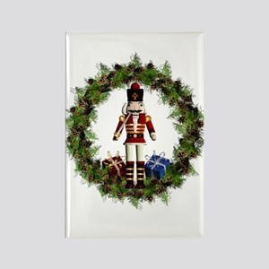Red Nutcracker Wreath Magnets