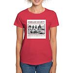 Homeland Security Native Pers Women's Dark T-Shirt