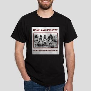 Homeland Security Native Pers Dark T-Shirt