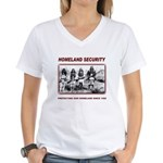 Homeland Security Native Pers Women's V-Neck T-Shi