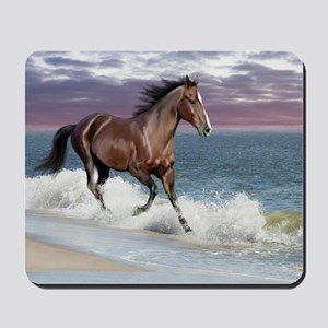 Dreamer_on_beach Mousepad