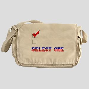 gun owner Messenger Bag