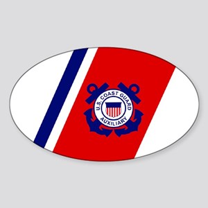 USCG Auxiliary Stripe<BR> Horizontal Sticker