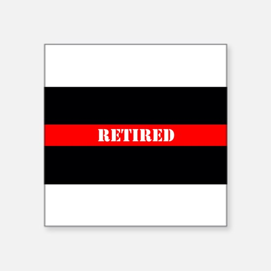 Retired Firefighter Sticker