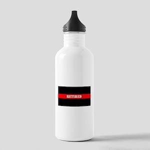 Retired Firefighter Water Bottle