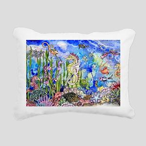 oceanlife Rectangular Canvas Pillow