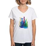 Viobot photo #3 Women's V-Neck T-Shirt