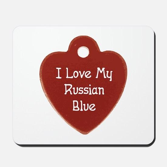 Love Russian Mousepad